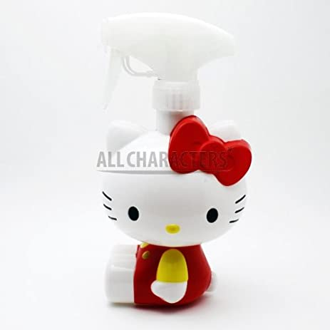 Charming Sanrio Hello Kitty Figure Water Spray Bottle Dispense (Red) Design