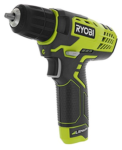 "Ryobi HP108L Compact 8 Volt Lithium Ion Cordless 3/8"" 580 RPM Drill / Driving Kit (8V 1.3 Amp Hour Battery and Charger Included) (Certified Refurbished) Review"
