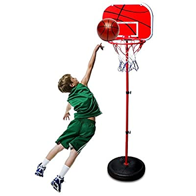 iNextStation Mini Kids Adjustable Play Basketball Portable Stand Net Hoop Children Outdoor Toy Sports Gift