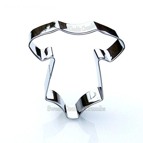 Baby Onesie Cookie Cutter- Stainless Steel (Cookie Diaper)