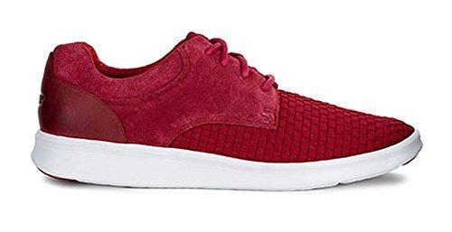 fbd7d6eaa6c UGG Mens Hepner Woven Sneaker Timeless Red Size 10.5