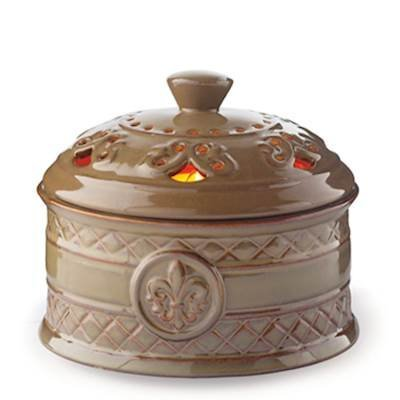 Fleur De Lis Centerpiece (Candle Warmers Etc. Candle Aire Fan Fragrance Warmer, Fleur de Lis)