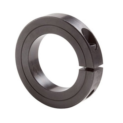 3-3//4 Outside Diameter Big Bearing SCS40X2-1//2 Single Split Shaft Collar Black Oxide 2-1//2 Bore Size 3-3//4 Outside Diameter 7//8 Width 7//8 Width 2-1//2 Bore Size