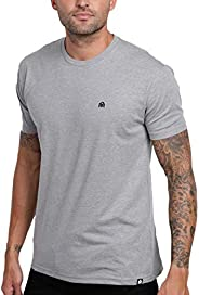 INTO THE AM Men's T-Shirts - Premium Short Sleeve Casual Crew Neck Tee S