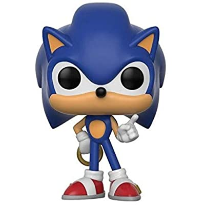 Funko Pop! Games: Sonic - Sonic with Ring Collectible Toy: Funko Pop! Games:: Toys & Games