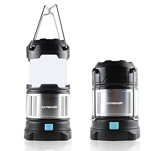 Expower Portable Camping Lantern USB Lamp for outdoor Camping ,Premium IPX5 Ultra Bright Lamp for Night Fishing Hunting Hiking Emergencies Blackouts