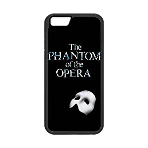 LeonardCustom Protective TPU Rubber Gel Fitted Cover Case for iPhone 6 4.7 inch, Phantom of the Opera LCI6U13