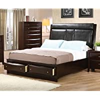 Phoenix Upholstered Storage Platform Bed