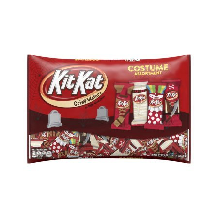 KIT KAT Halloween Snack Size Costume Assortment, 27.4 oz