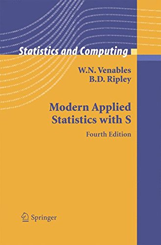 Modern Applied Statistics With S  Statistics And Computing