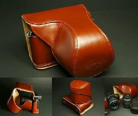 Amazon.com: Funda de piel Real de vaca auténtica bolsa Cover ...