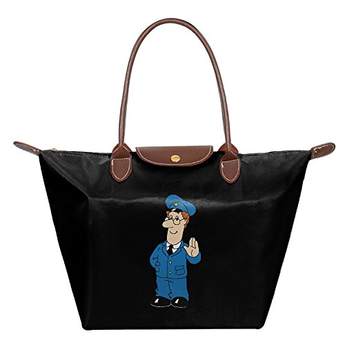 Cartoon Postman Waterproof Foldable Tote Bags Shopping Beach Shoulder Handbags Purse Tote Shoulder Bag (Rock Halloween Hulk)