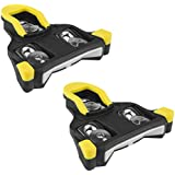 BV Bike Cleats Compatible with Shimano SPD-SL - Road Cycling Cleat Set, Split Patent Design