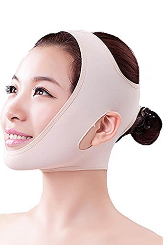 Elisona-V-Line Face Ultra-thin Anti Aging Wrinkle Cheek Chin Facial Mask Slim Uplift Shaping Lift Up Belt Band M