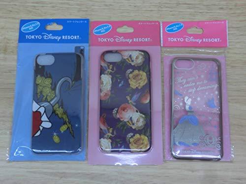 東京 ディズニーリゾート 限定 スマートフォン ケース 3点 セット iPhone66s78対応 シンデレラ ティンカーベルフック