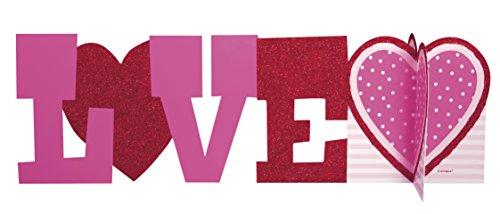Love Valentine's Day Centerpiece Decoration, 14