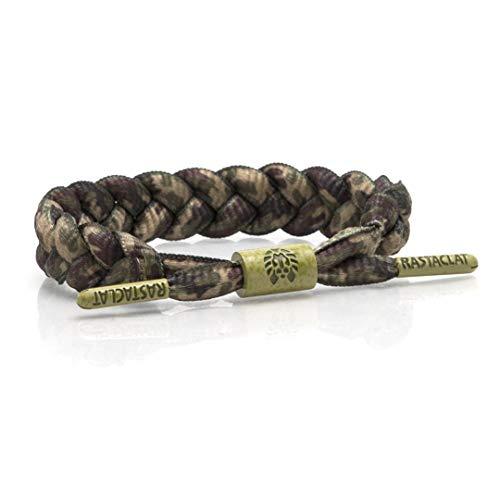 Rastaclat Woodland Camo Shoelace Bracelet