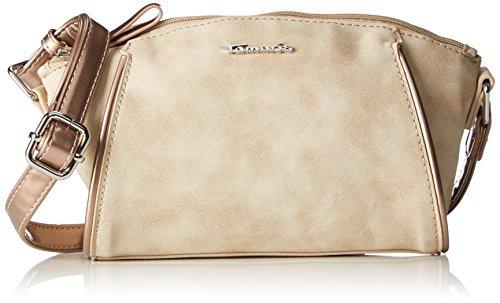 Tamaris Delfina Crossbody Bag, Bolso con Bandolera, Unitalla Beige (Sand Comb)