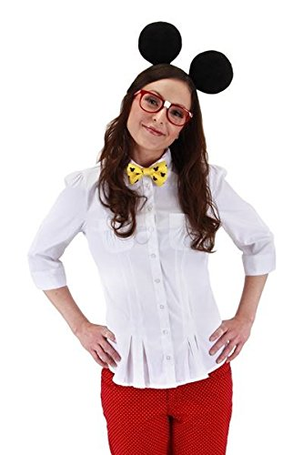 elope Disneyu0027s Mickey Mouse Nerd Costume Kit  sc 1 st  Amazon.com : nerd costume for girl  - Germanpascual.Com