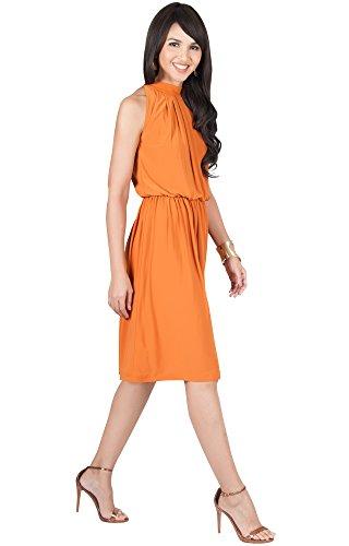 Waist Matte Jersey Dress - 5