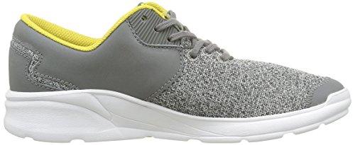 Grey Heather Supra Grau White Pointure Noiz Charcoal Schwarz Sneaker Unisex Erwachsene wq68UwZH