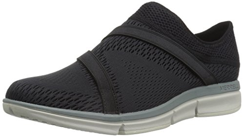 Merrell Womens/Ladies Zoe Sojourn E-Mesh Q2 Slip-on Trainers Shoes Black