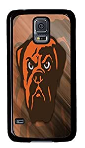 custom and diy for samsung galaxy s5 NFL Cleveland Browns Football voqcc logos by jamescurryshop