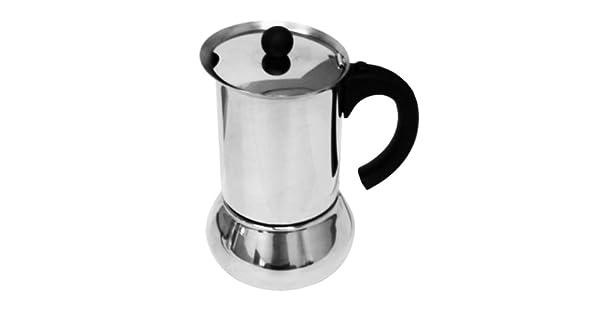 Amazon.com: vev vigano Carioca Nero 1-cup cafetera de ...