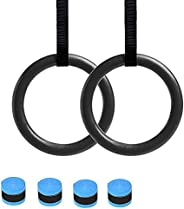 $17.80 Pull-up Rings Gymnastic Rings, Exercise Olympic Rings with Adjustable Straps, Strength Training, Pull-U