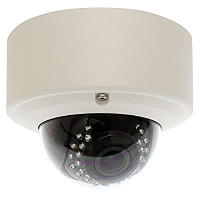 GW Security 2.1MP 1080p 4-in-1 HD TVI/AHD/CVI/960H 1200TVL CCTV Outdoor Indoor Dome Security Camera, 2.8-12 mm Varifocal Zoom Lens from GW Security Inc