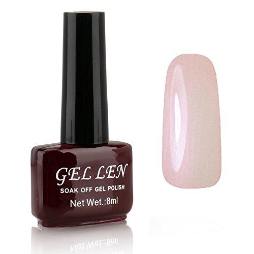Gellen LED Gel Polish Color Polish 1pc 8ml Shiny Lovely Brow