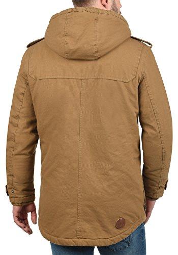 Peau 5056 solid D'extérieur Blouson Coton Forster Mouton Capuche 100 Cinnamon À De D'hiver Homme Veste q6tH6