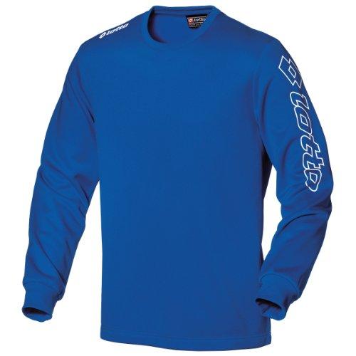 Lotto Mens Football Sports Training T-Shirt Long Sleeve Zenit PL (L) (Royal)