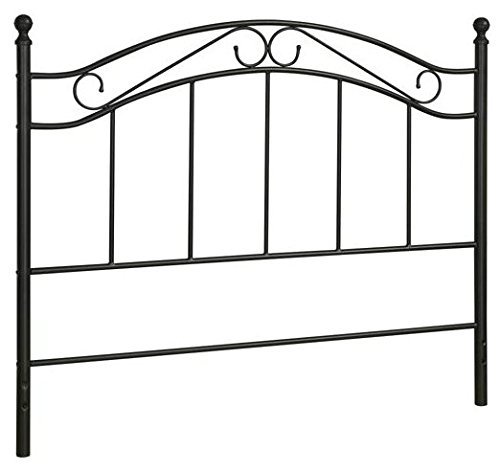 Bed Headboard- Fits Full or Queen Bed Frames by Mainstays - Headboard Full Metal Size