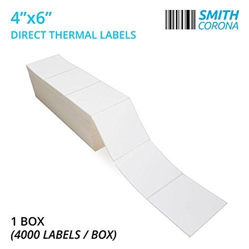 Thermal Transfer Labels Fan (Smith Corona - 2 Stacks - Fanfold 4