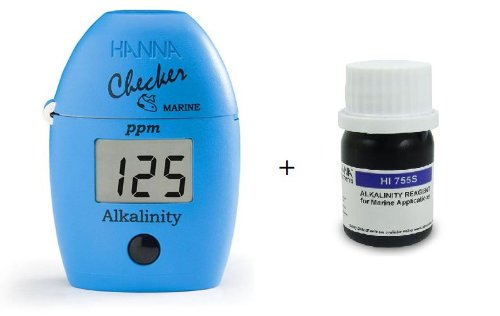 COMBO! HANNA HI 755 CHECKER HC ALKALINITY COLORIMETER PHOTOMETER+755-26 25 TESTS