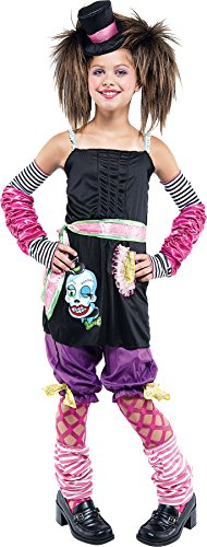 Girls Asian Harajuku Kids Child Fancy Dress Party Halloween Costume, L (10-12) -