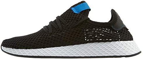 adidas Deerupt Mens Style: B42063 BlkBlkBlue Size: 8.5