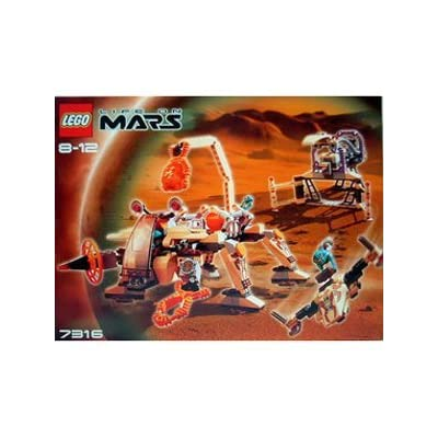 LEGO 7316 Life on Mars Mars Spacecraft: Toys & Games