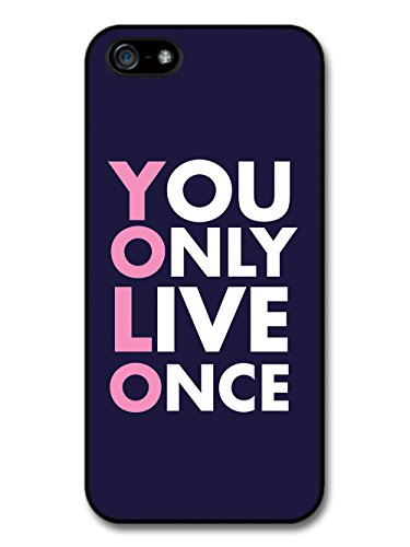 You Only Live Once Hashtag Yolo Funny coque pour iPhone 5 5S