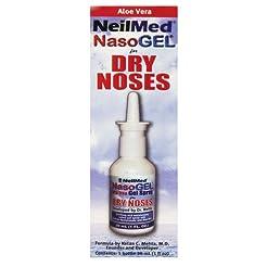 NeilMed Nasogel Drip Free Gel Spray, 1 F...