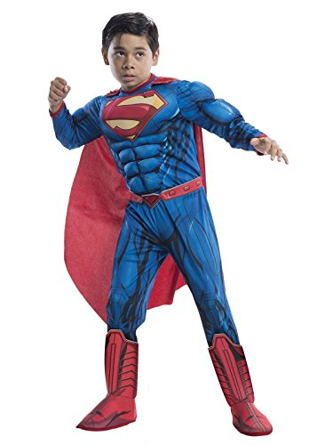 Rubie's Costume DC Superheroes Superman Deluxe Child Costume, Small]()