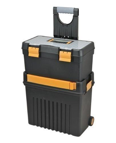 Baumeister Workstation - Caja de herramientas con ruedas (2 piezas, 46 x 28 x