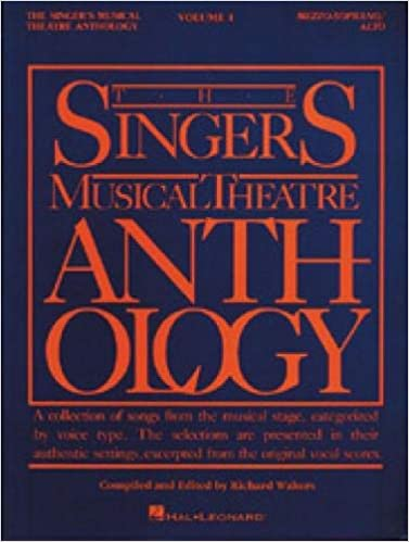 The Singer's Musical Theatre Anthology: Vol  1, Mezzo