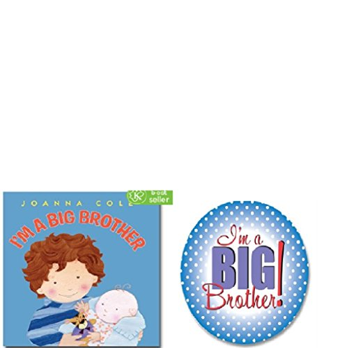 I'm A Big Brother Book and Button (Big Brother Photo Book)