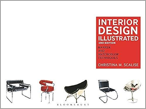 Interior Design Illustrated: Marker and Watercolor Techniques ...