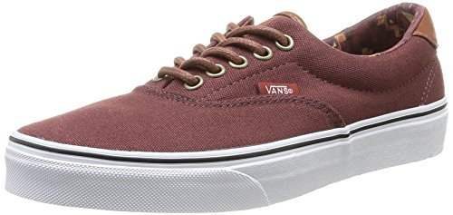 Vans U Era 59, Unisex-Erwachsene High-Top Sneaker Marron (Bitter Chocolate/Tribe Rug)