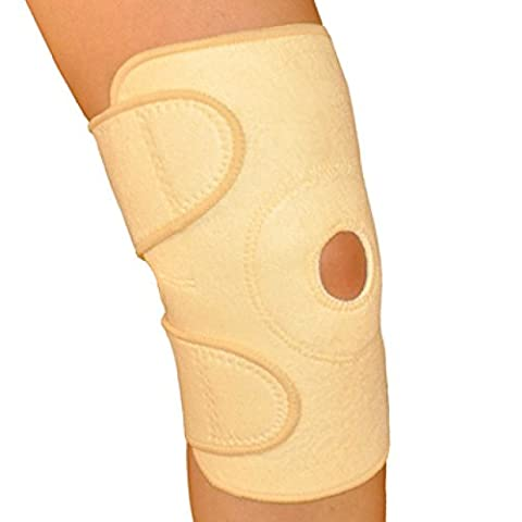 Orthopedic Flex-Knee Support Wrap for Maximum Support, Knee Wrap Knee Brace for Fitness, Post Surgery, Injury, Inflammation, Arthritis and More! By One & Only USA (Beige - 1 (Walmart Beactive Brace)