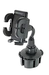 Bracketron UCH-101-BL Universal Cup-iT-II with Grip-iT, Black