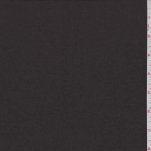 Dark Chocolate Wool Flannel, Fabric by The Yard